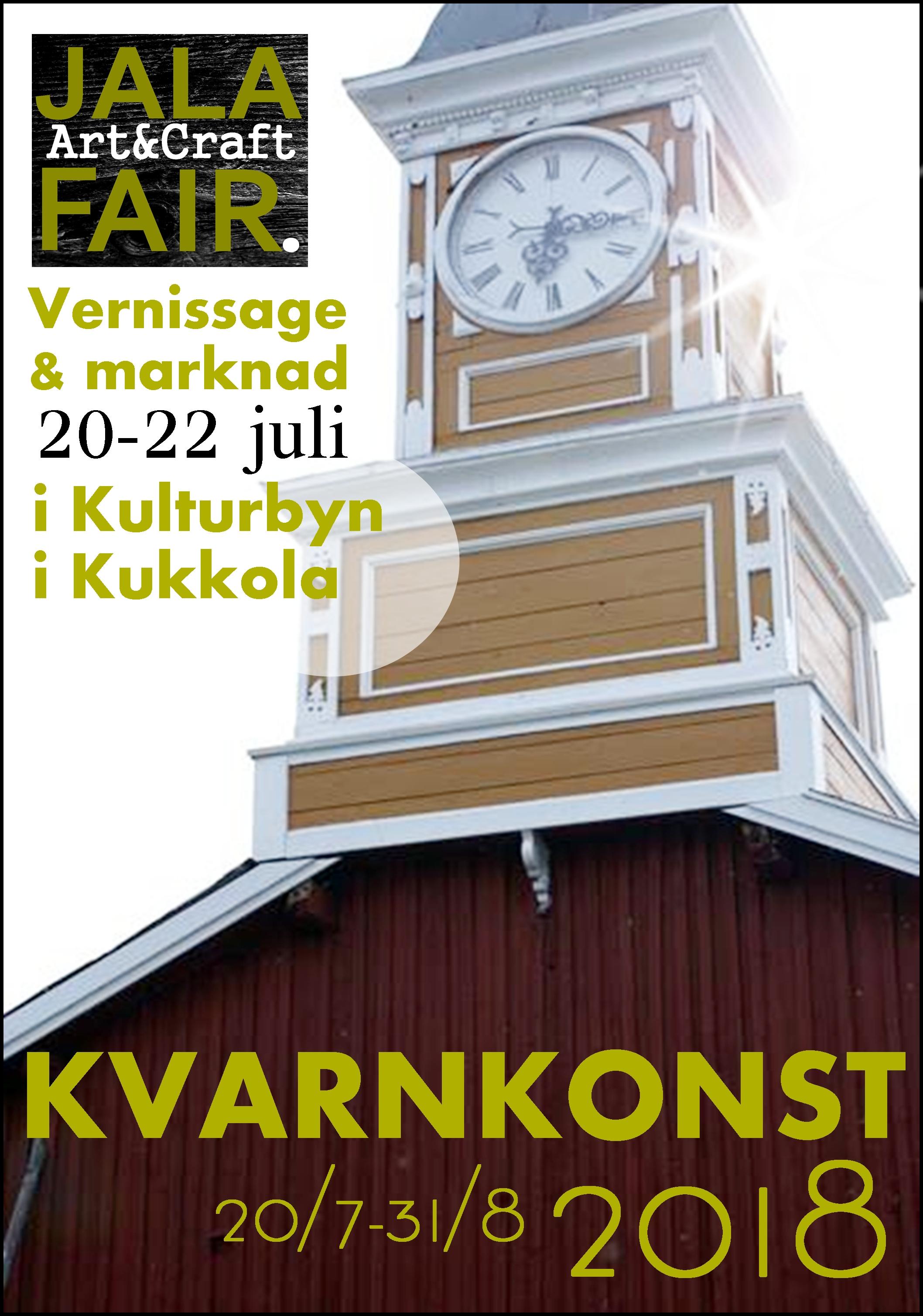 Jala Art & Craft Fair – Kvarnkonst 2018