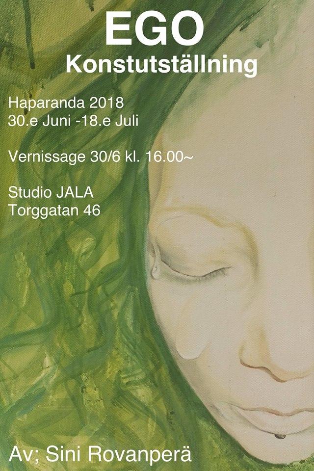 Utställning: EGO av Sini Rovanperä
