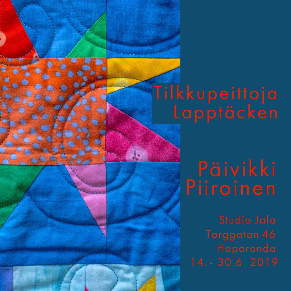 Utställning: Lapptäcken – Päivikki Piiroinen
